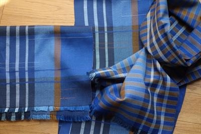 3 Handwoven silk scarves