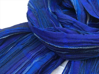 handwoven silk& wool scarf