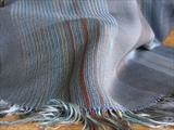 large silk & merino wool scarf or wrap by Bobbie Kociejowski, Textiles